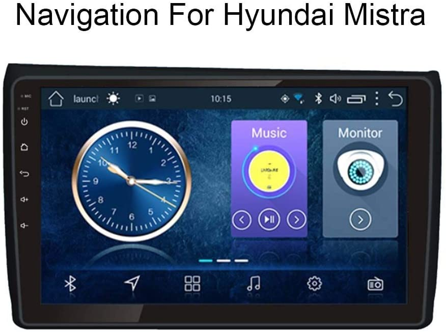 gaoweipeng for Hyundai Mistra 2017 Car GPS Navigation Multimedia System Satellite Navigator DVD Player Tracker Auto Radio Bluetooth WiFi Stereo Capacitive Screen