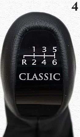 The Tuning-Shop Ltd for Mercedes C-Class W203 01-03 Manual Gear Knob + Shift Boot Leather Model 4