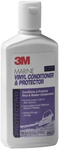 3M 7 X Marine Vinyl Cleaner, Conditioner, Protector (8.4-Ounce)
