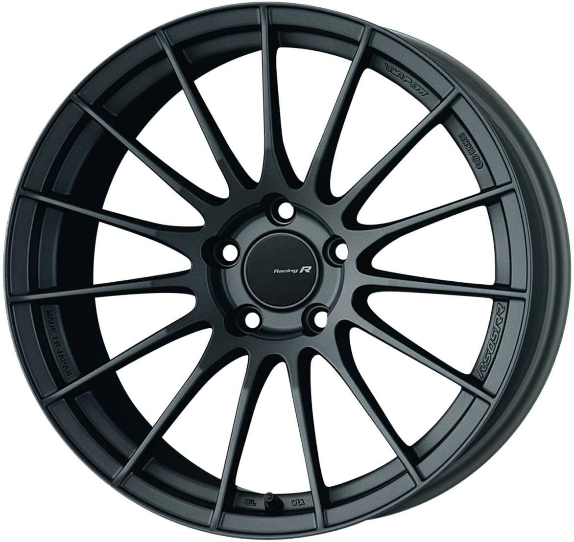 18x10.5 Enkei RS05RR (Matte Gunmetallic) Wheels/Rims 5x114.3 (484-8105-6522GM)