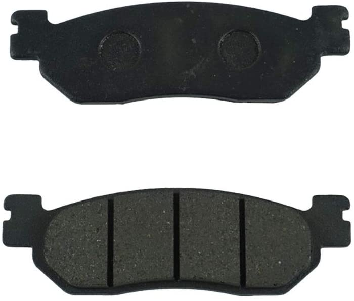 MADONGKJA Motorcycle brake pads kit for Yamaha TW200 XT225 (forepart) / YZF R1 R6 (bottom) YP 400 R X-Max 2013 2014 2015 2016 (Color : 1)