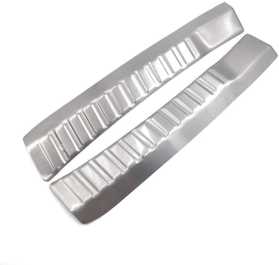 PSLER Rear Inner Interior Bumper Sill Plate Guard Protector Cover Trim for Honda CRV 2012-2015