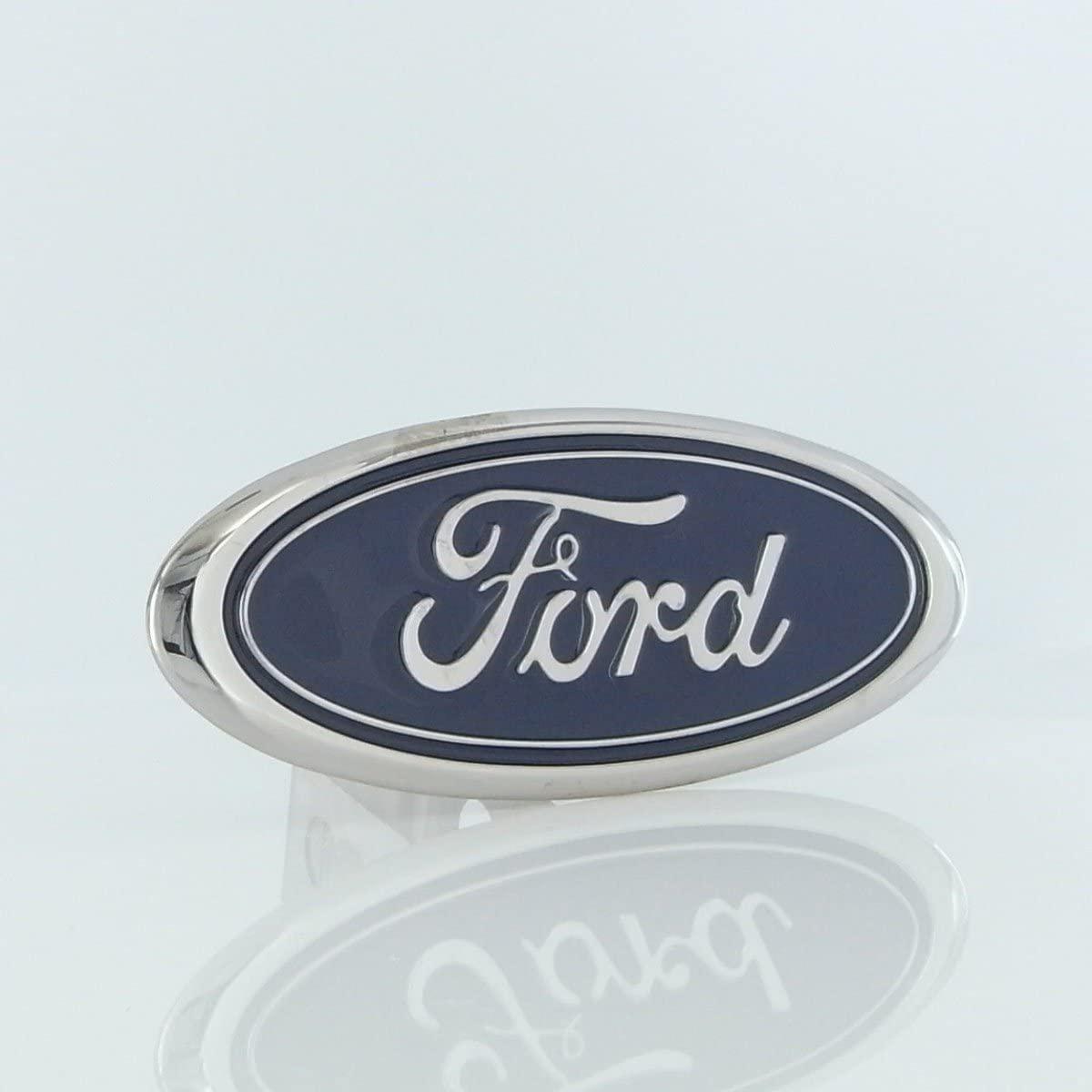 Au-Tomotive Gold, INC. Class II Logo Trailer Hitch Plug Ford (Blue)