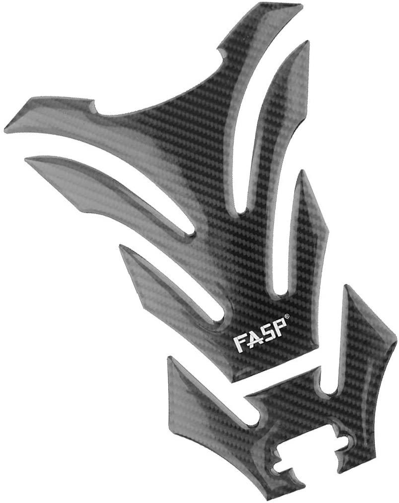 prasku Fuel Gas Tank Pad Protector Carbon Fiber Design For Motorcycle Street Bike