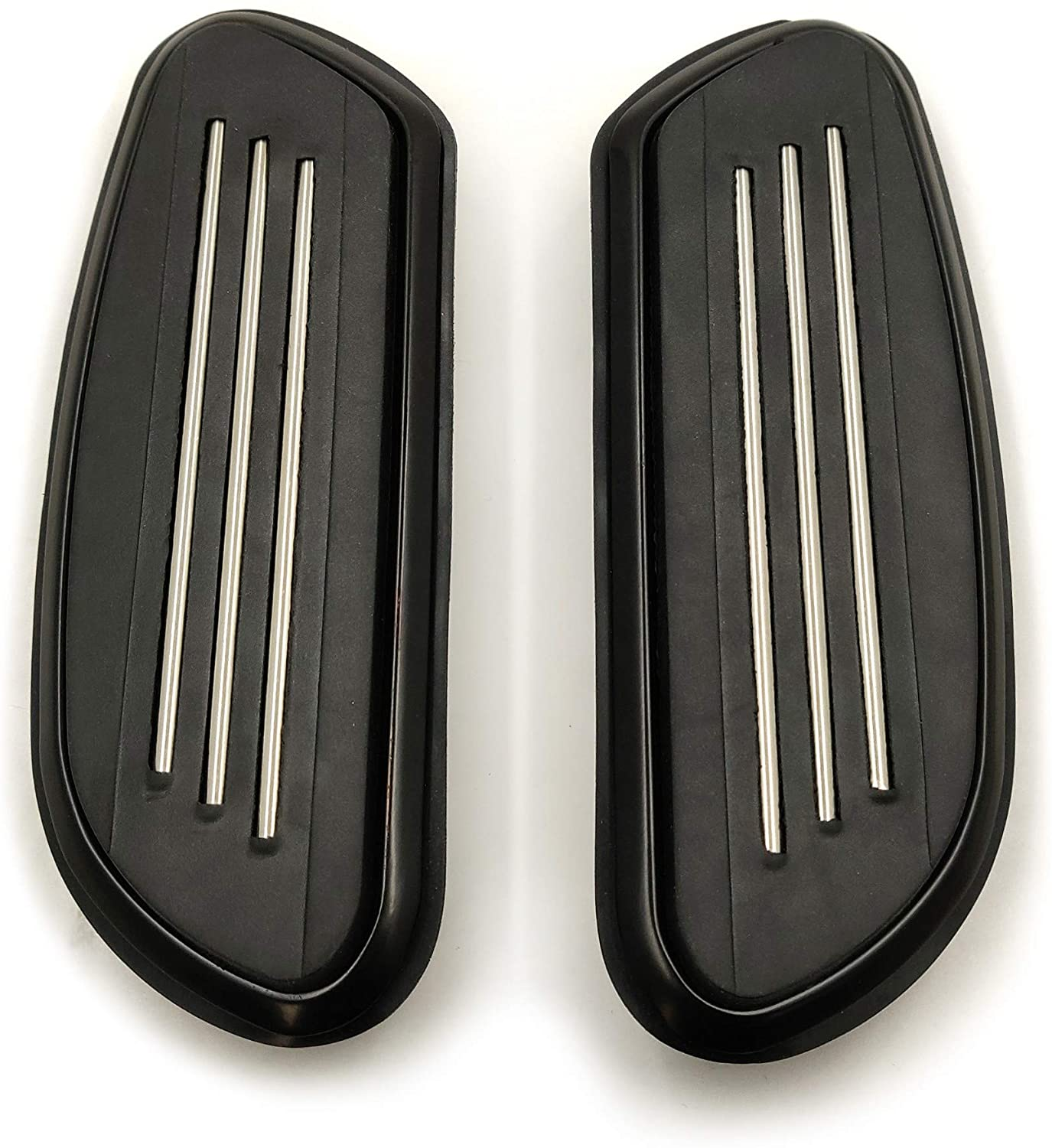 XKMT-Streamline Passenger Foot Floor board Compatible With Harley Touring Road Street Glide 93-19 [B07PPCT2MQ]