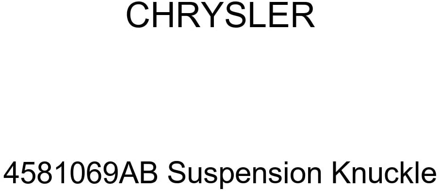 Genuine Chrysler 4581069AB Suspension Knuckle