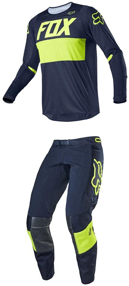 Fox Racing 360 Bann Jersey/Pants Set - (XL/36-NVY)