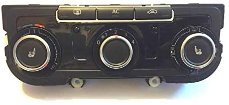 Abssrsautomotive CLIMATE TEMPERATURE CONTROLS FOR 2012-14 VW CADDY GOLF JETA 7N0907426AM