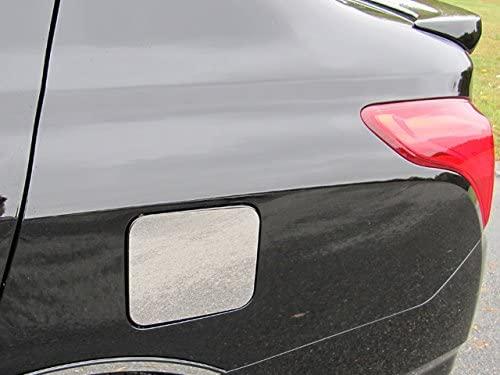 QAA fits 2012-2019 Nissan Versa 1 Piece Stainless Gas Door Cover Trim GC12530