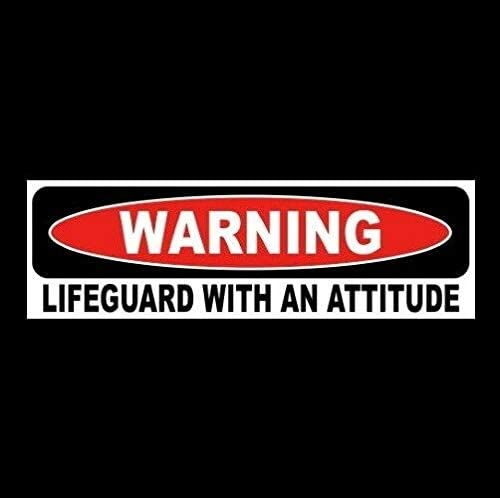 Tamengi Funny Terrible Driver Window Decal Bumper Sticker Warning, Caution, Vinyl Sign