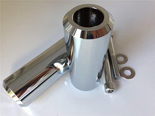 SMT-Extended Aluminum Frame Slider Compatible With 2004 2005 2006 2007 2008-2012 Yamaha Fz-6 Fz-6S 600 Cd [B00RUEJ6RW]