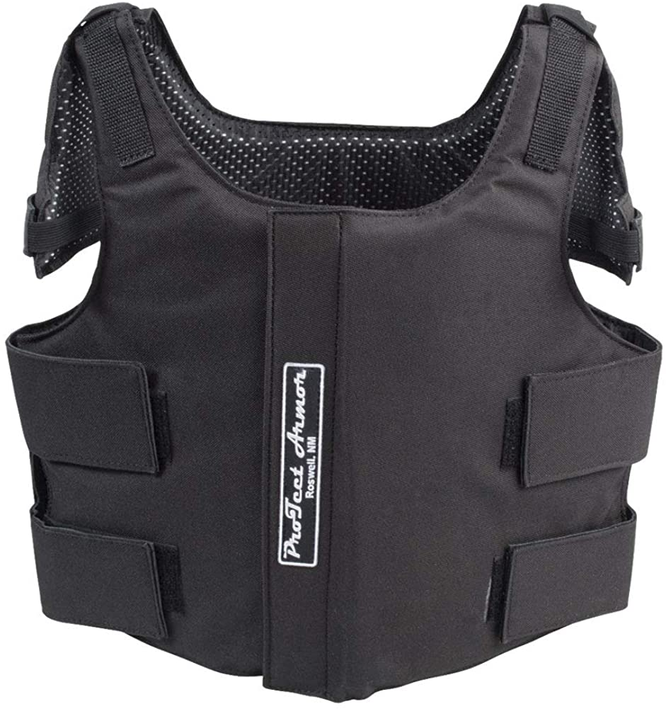 Protect Armor Vest Youth Medium Black