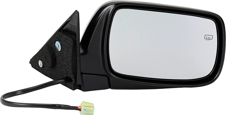 Dorman 955-1560 Passenger Side Power Door Mirror - Heated/Folding for Select Subaru Models, Black