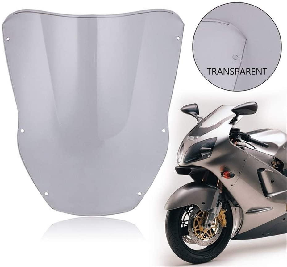 MADONG Motorcycle windshield ABS deflector Compatible Kawasaki Replacement for Ninja ZX10R ZX12R 2000-2001 (Color : Gray)