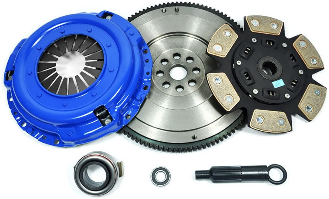 PPC STAGE 3 CLUTCH KIT& FLYWHEEL FOR 84-88 TOYOTA 4RUNNER PICKUP TRUCK 2.4L 2WD 4WD