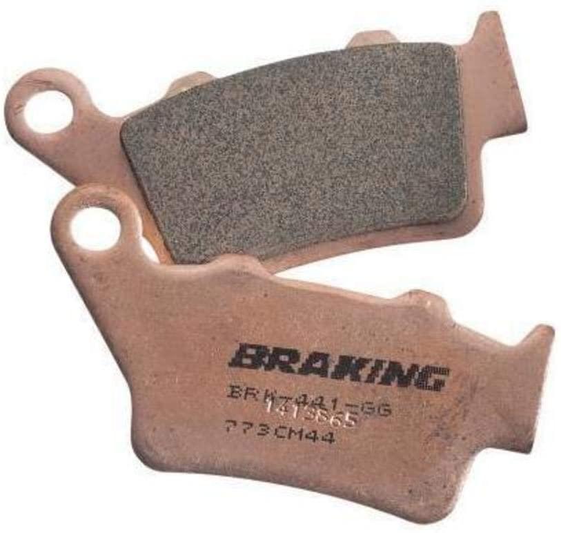 Braking 31-684S Brake Pad Set Semi-Metallic