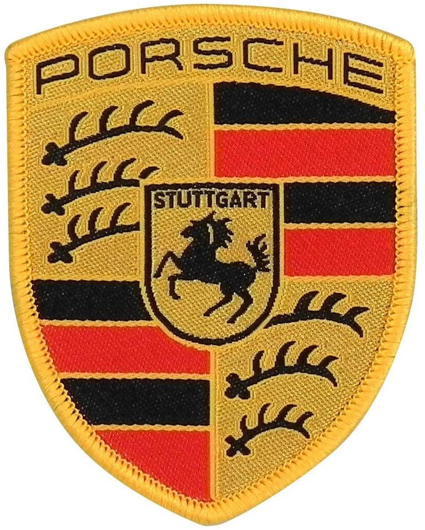 Porsche Crest Sew-On Badge