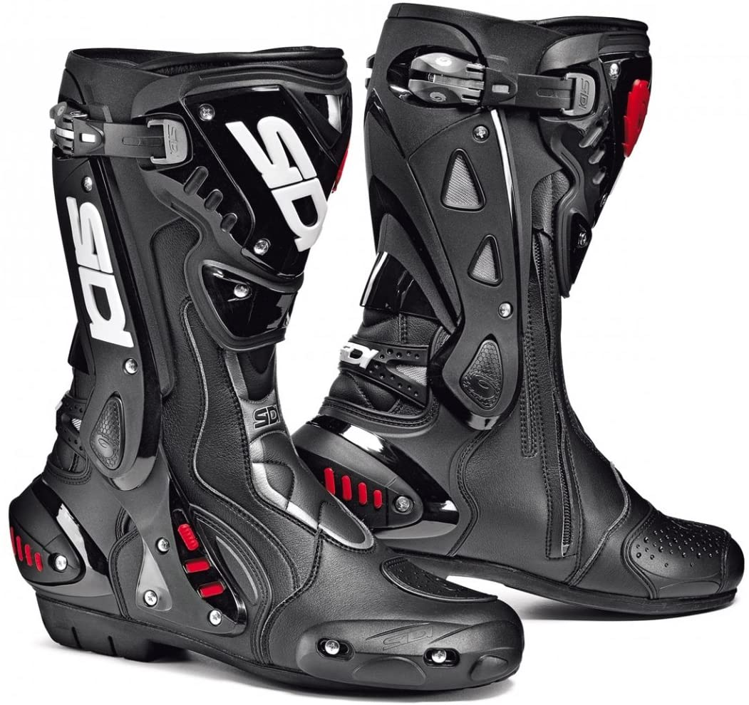 Sidi ST AIR Motorcycle Boots Black US11/EU45 (More Size Options)