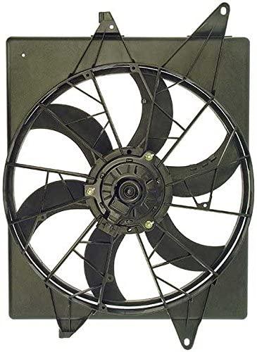 APDTY 731229 Radiator Cooling Fan Assembly, Left