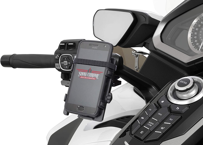 Show Chrome Accessories (52-948BK GPS/Phone Mount GL1800 2018-