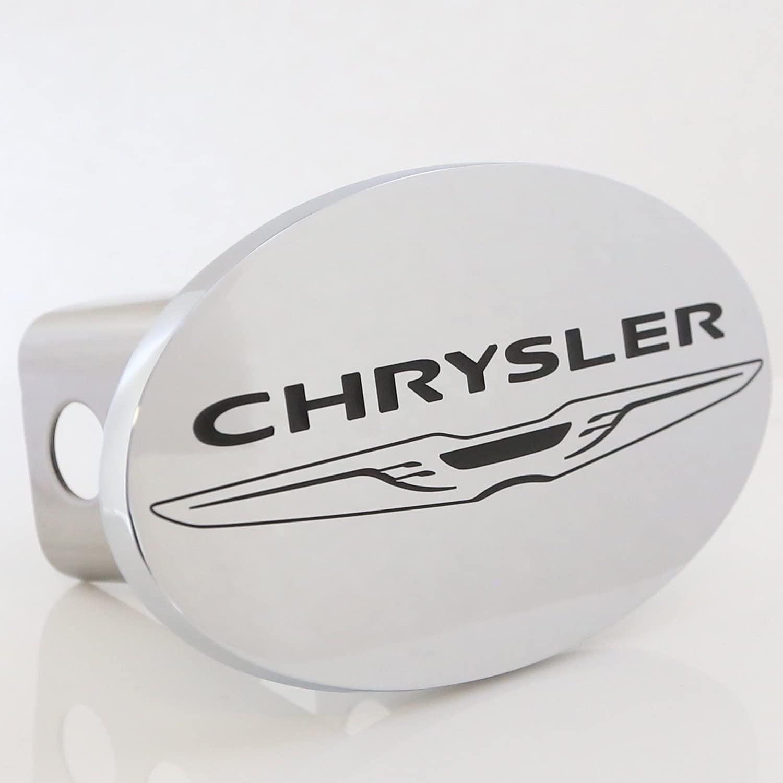 Baron & Baron, Inc. Class III Trailer Hitch Plug for Chrysler (Chrome Oval)