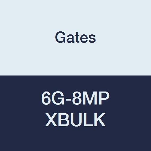 Gates 6G-8MP XBULK MegaCrimp Couplings, Male Pipe, Zinc Plated Carbon Steel, 2.51