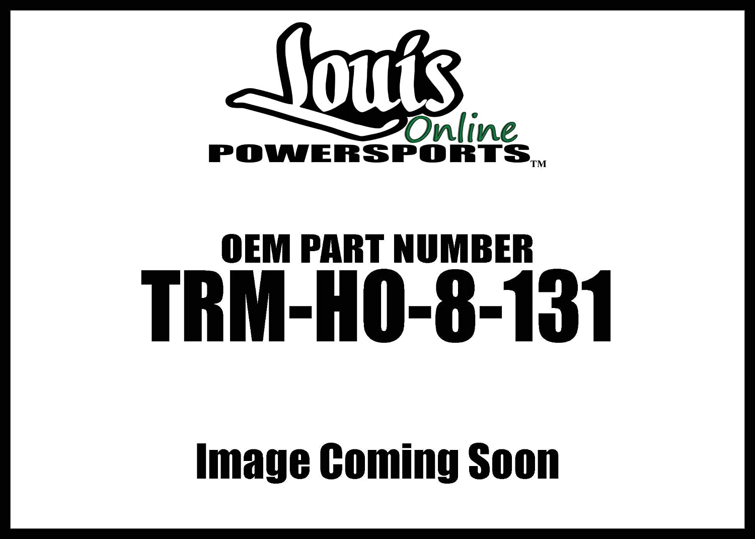 Quadboss Qboss Replacement Axle Trm-Ho-8-131 New