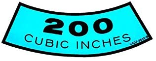 MACs Auto Parts 42-47230 Decal - Air Cleaner - 200