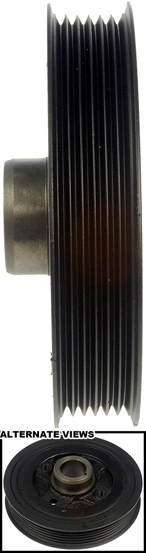 APDTY 605207 Harmonic Balancer Crank Pulley Dampener Assembly