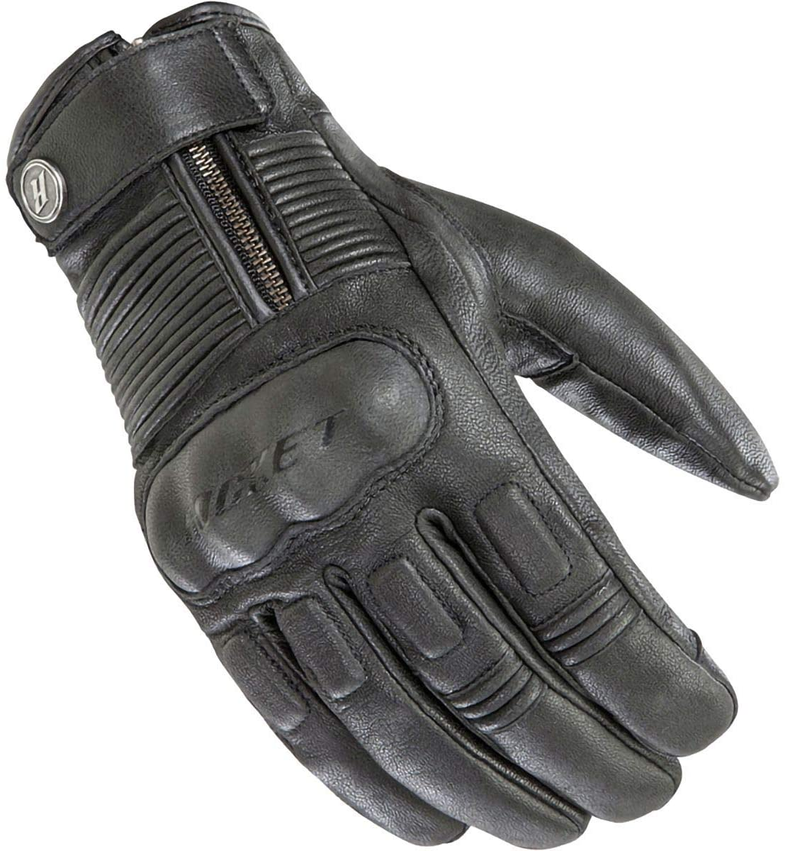 Joe Rocket Mens Briton Motorcycle Glove (Black, Large)