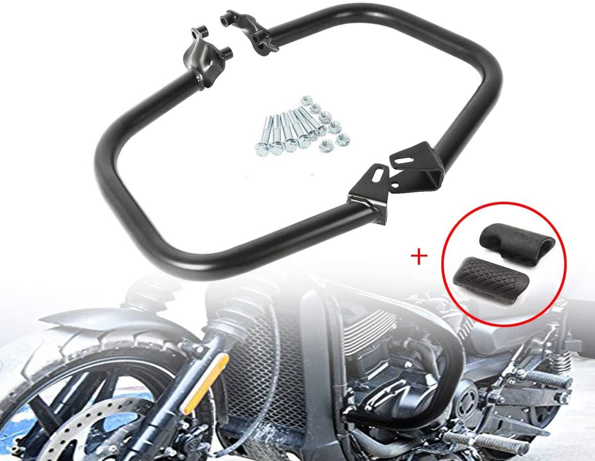 JOYON Motorcycle Engine Gurad Crash Bars Bumper Slider for Harley Street 500 750 XG500 XG750 2015-2018