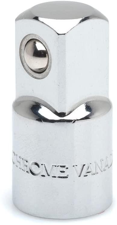 Crescent CDTA1 3/8 Drive 3/8 F X 1/4 M Chrome Increasing Socket Adapter