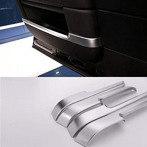 4pcs For Landroover Range Rover Vogue L405 Car-Styling ABS Chrome Interior Door Decoration Strips Trim Accessories Sticker New