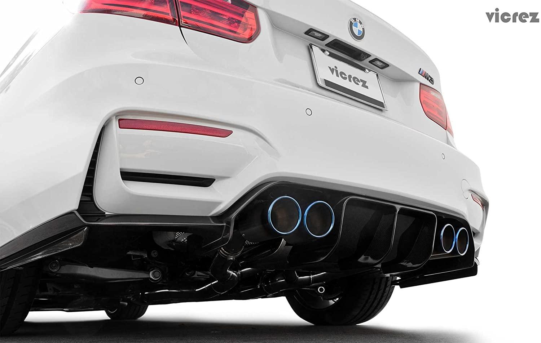 Vicrez BMW M4 F82 F83/ M3 F80 2014-2018 VZ3 Polyurethane Rear Diffuser vz100776