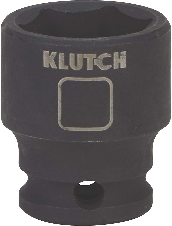 Klutch Impact Socket - 11/16in, 3/8in.-Drive