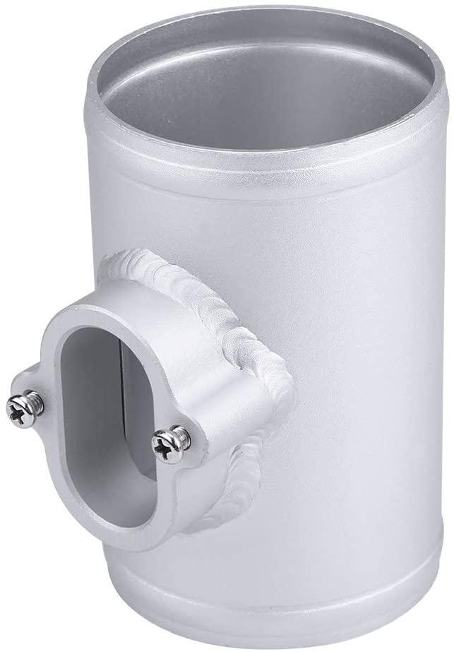 Qiilu Air Flow Sensor Adapter,Fuel Efficient Intake Meter Mount Base for Chevrolet Cruze Opel Vauxhall MAF 76mm