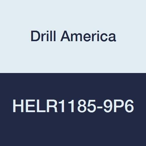 Drill America HELR1185-9 High Speed Steel Inserts, 9/16