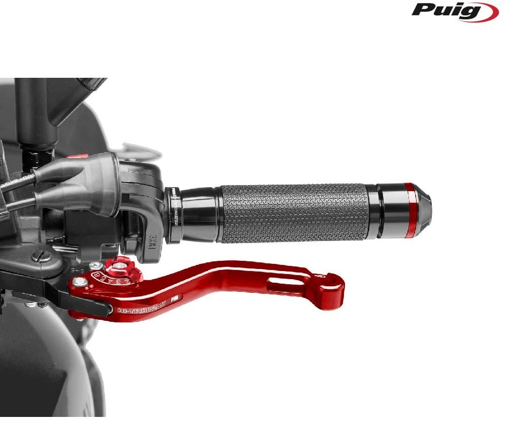 Puig 280RR 2.0 Short Clutch Lever with Selector, Red