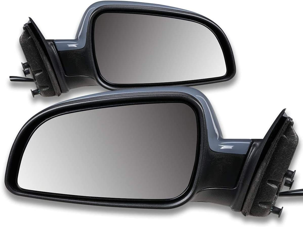 GM1320342 GM1321342 Pair OE Style Powered Rear Side View Door Mirror Replacement for Malibu Aura 08-12