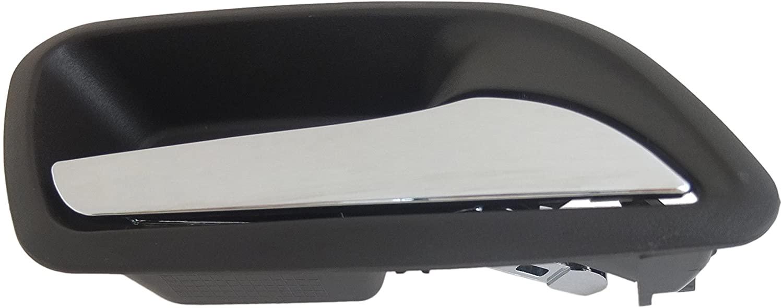 Dorman 88677 Interior Door Handle for Select Chevrolet Models, Black and Chrome