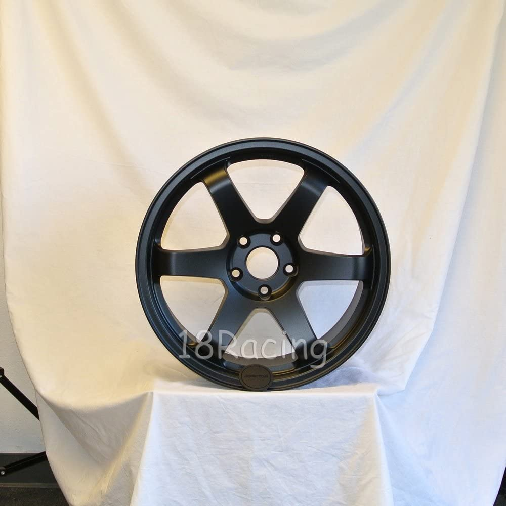 4 PCS ROTA GRID WHEELS 19X10 PCD:5X114.3 OFFSET:15 HB:73 FLAT BLK