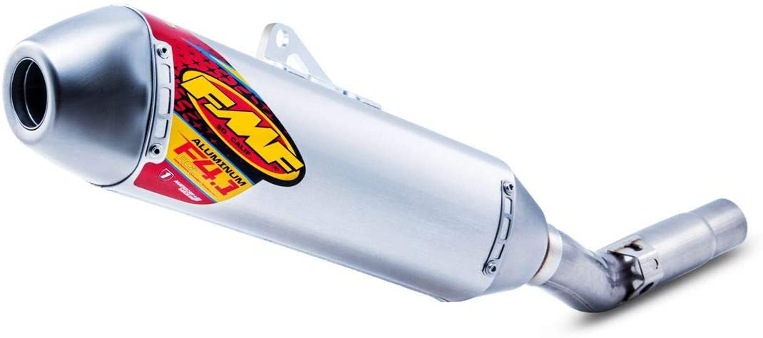 FMF Factory 4.1 RCT Slip-On Exhaust (Aluminum with Stainless Steel Mid Pipe) for 14-15 Husqvarna FC450HQ