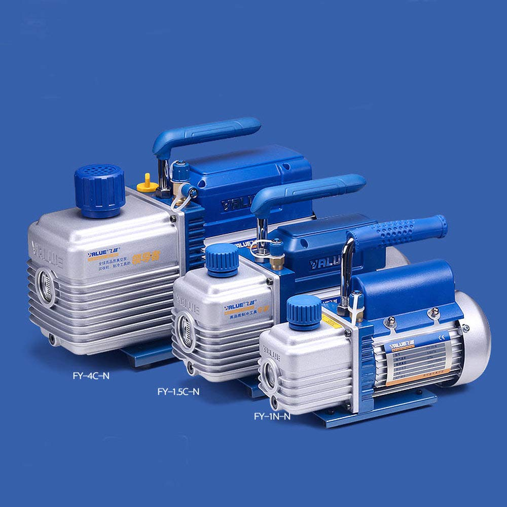 FY-4C-N Single Stage Vacuum Pump 4L Liter Air Conditioning Repair kit air Bleed Pump R140 Fluorine Suction Pump