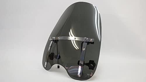 Harley Sportster Smoke Windshield Windscreen Wind Screen Fits19