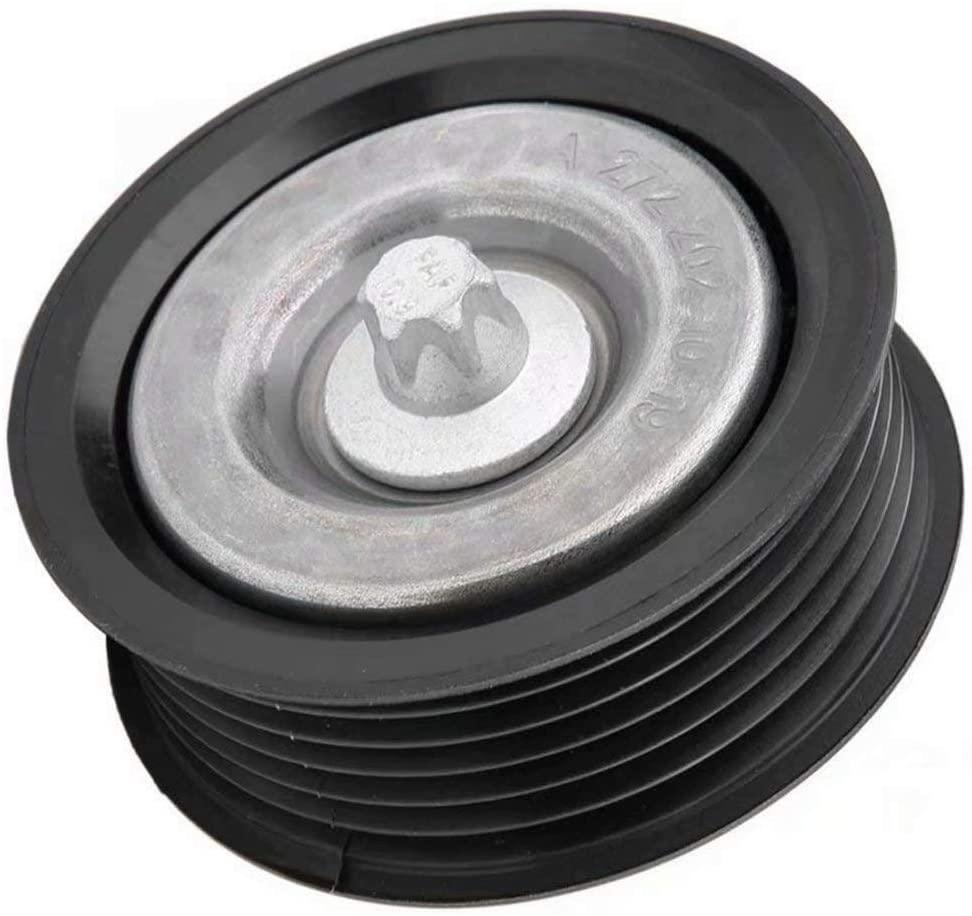 NaNa-AUTO Belt Tensioner Idler Pulley A2722021019 for Mercedes C230 C280 C320 Clk500 E320 E350