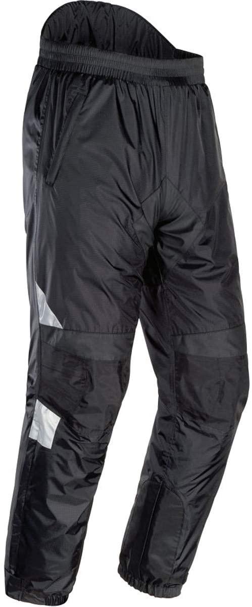 Tour Master Sentinel Women's Pants Sports Bike Racing Motorcycle Rain Suit - Black/Large