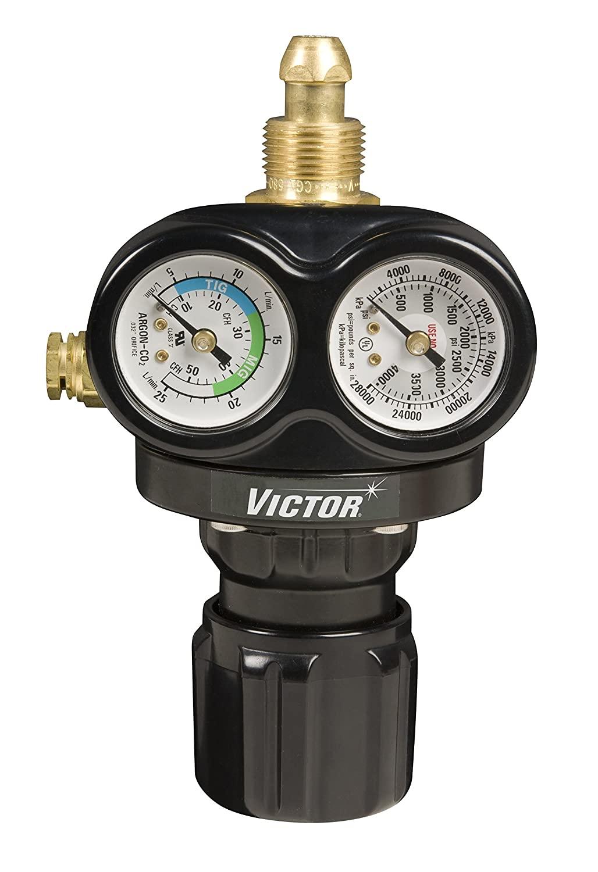 Victor Technologies 0781-5120 580 Professional Single Stage EDGE ESS3, Medium Capacity, 40 SCFH, Argon