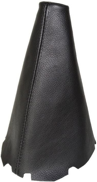 For Toyota Corolla E12 2001-07 Shift Boot Black Genuine Leather