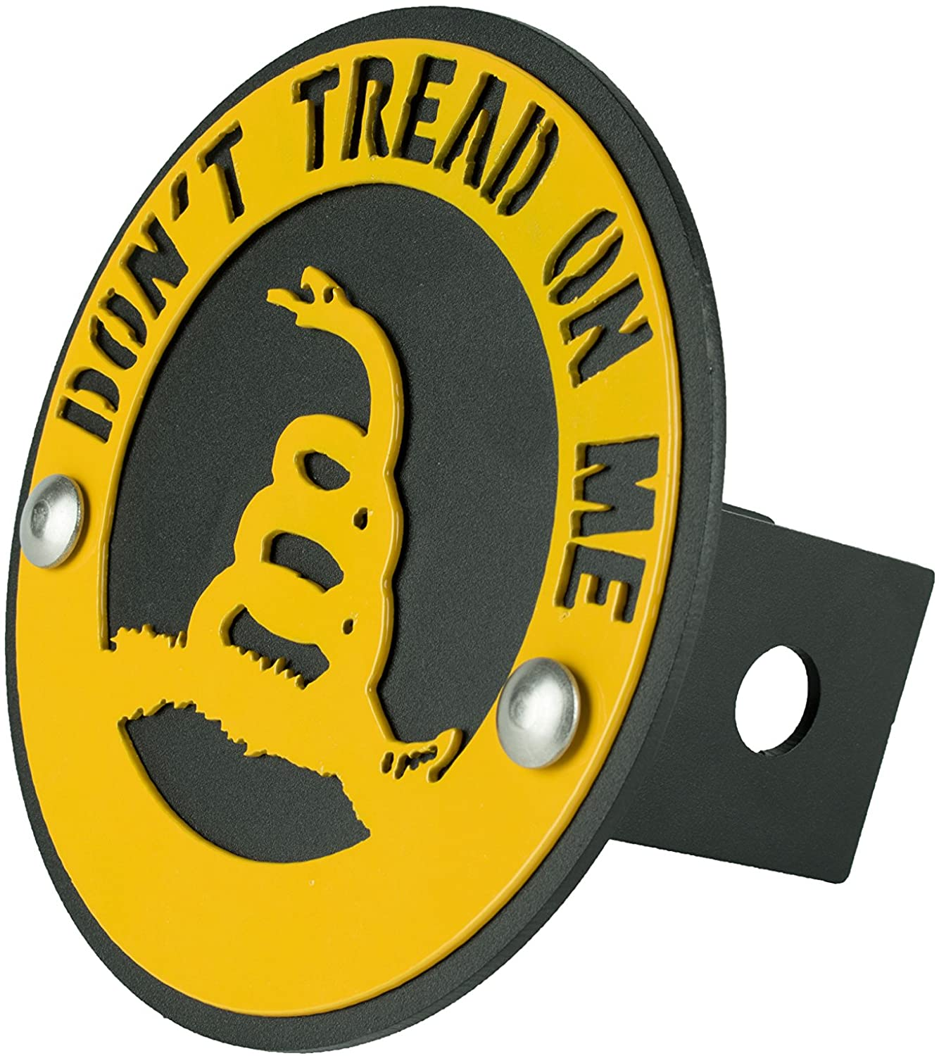 BLUE LUCA Gadsden Flag Dont Tread On Me Hitch Cover for 2 inch Hitch Receiver | Made in USA