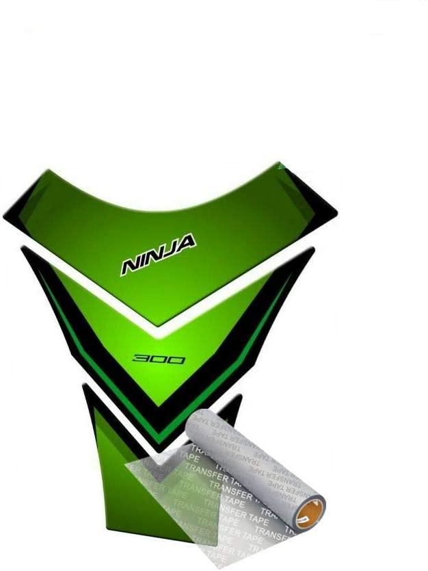 Tankpad for KAWASAKI 300 EX Ninja R 2013-2017 (Green)